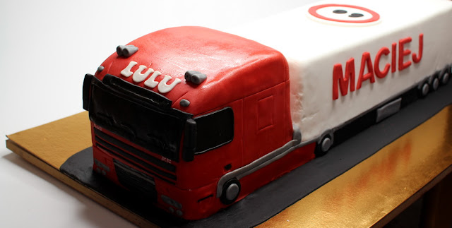 DAF Truck Birthday Cake London