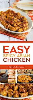 Easy Spicy Asian Chicken [found on KalynsKitchen.com]