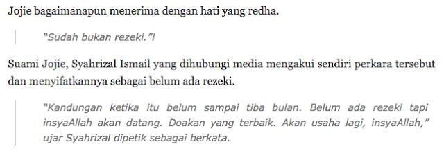 Innalillah.. Alfatihah Dan Salam Takziah Kepada Jojie Kakak Ella Kerana Hilang Orang Yang Tersayang Semoga Tabah Menerima..