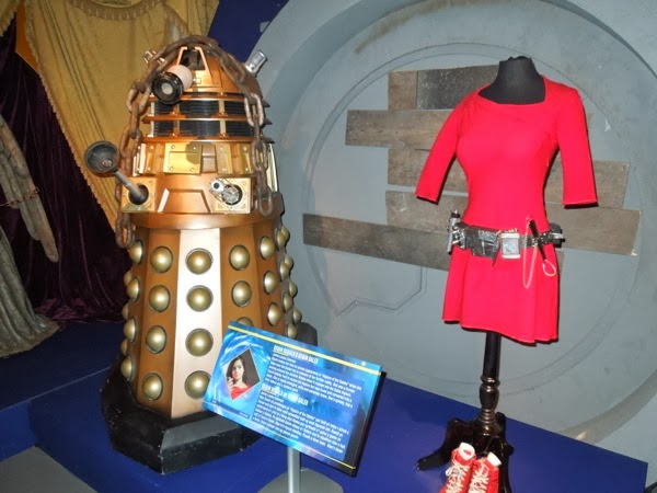 Asylum of the Daleks Doctor Who exhibit