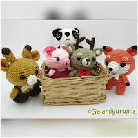 http://amigurumislandia.blogspot.com.ar/2018/07/amigurumis-zoopeques-mamiferos-kawaii-galamigurumis.html