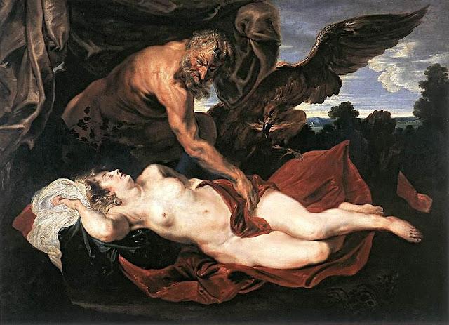 Antoon Van Dyck: Giove e Antiope