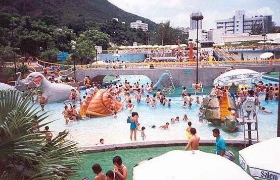 水上樂園主池(圖片來源﹕http://ticketsz.blogspot.hk/)