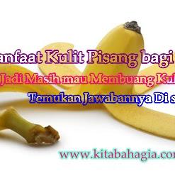 Kulit pisang  Bisa Mengobati Jerawat