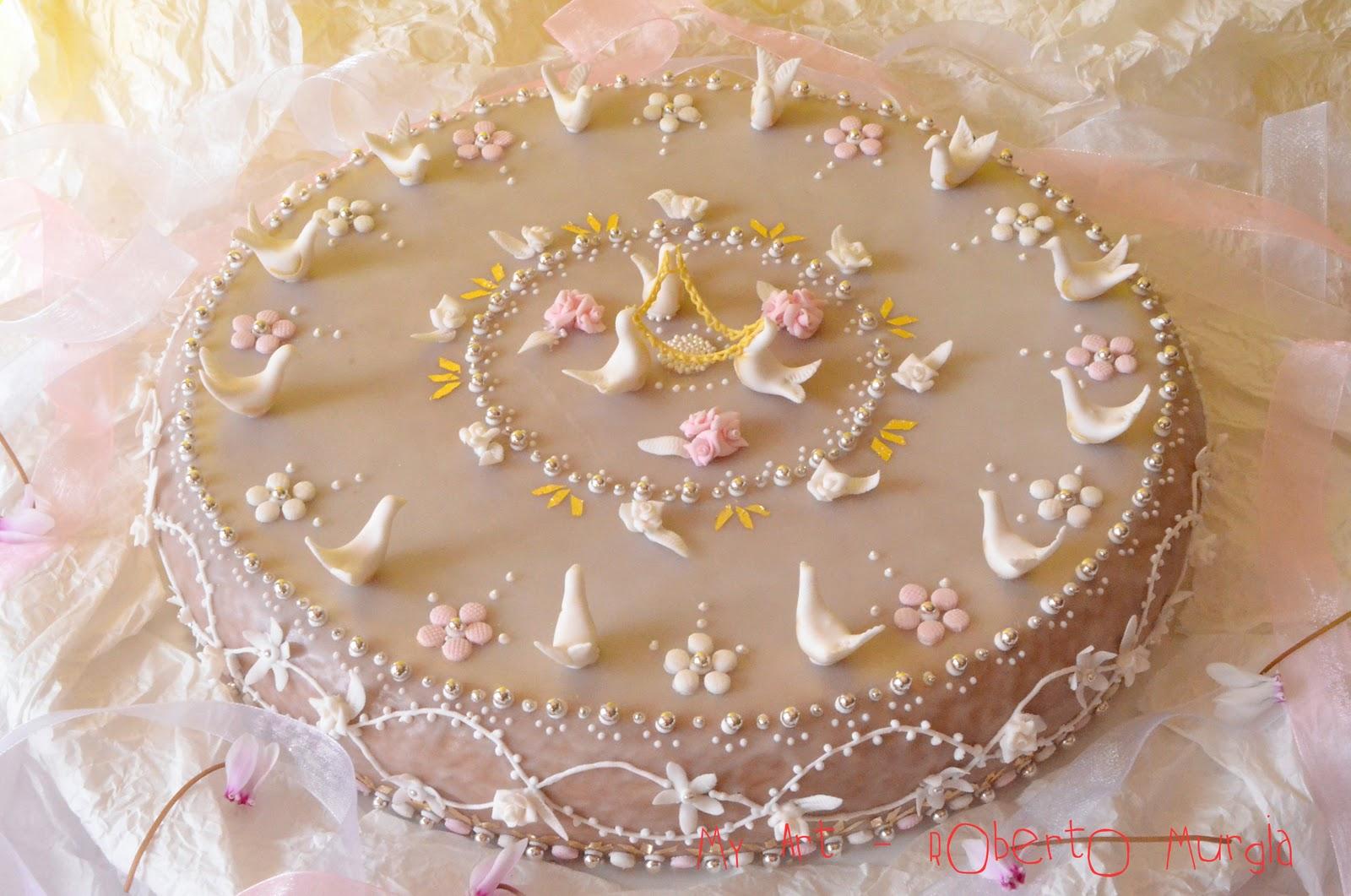 My art roberto murgia truta a mazz 39 e mendula torta di for Ricette dolci sardi