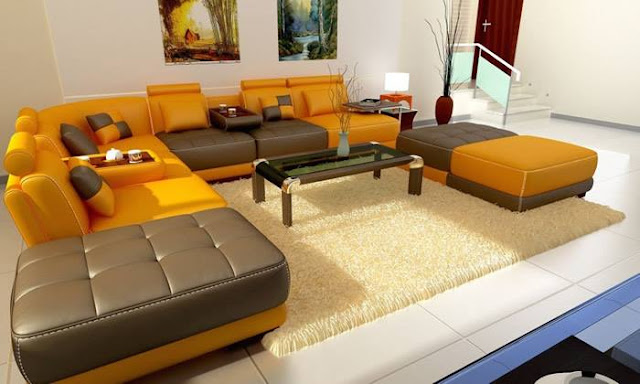 Decorating Ideas For Small Living Rooms and Leather sofas