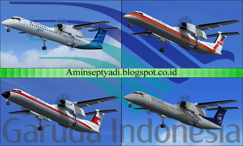 Majestic Q400 Garuda Indonesia Pack (Fictional) – Amin's Hangar