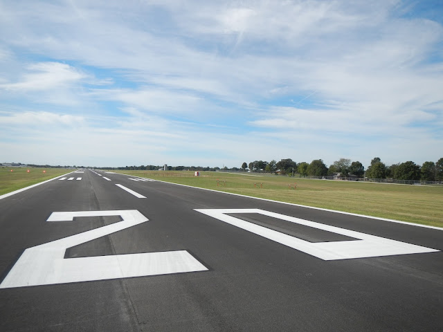 Rogers Executive Airport runway recognized for pavement quality