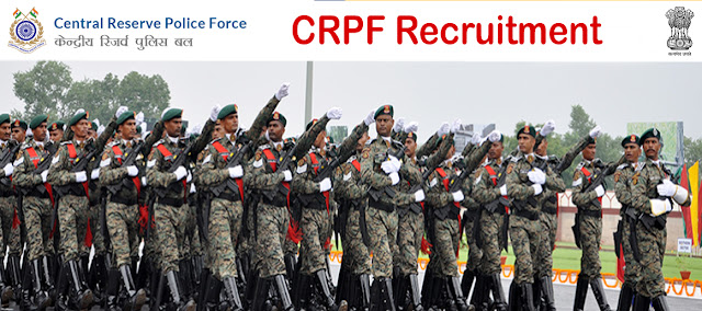 CRPF Recruitment crpf.nic.in or crpfindia.com Apply Online Form