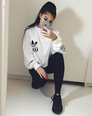outfit adolescente tumblr casual deportivo