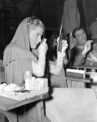 Joan Fontaine detrás de las cámaras