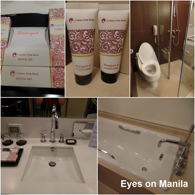 Century Park Hotel Staycation: Bathroom