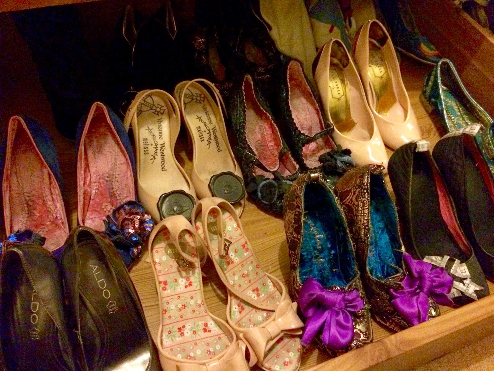 irregular choice shoes, Vivienne Westwood shoes, Ted Baker shoes