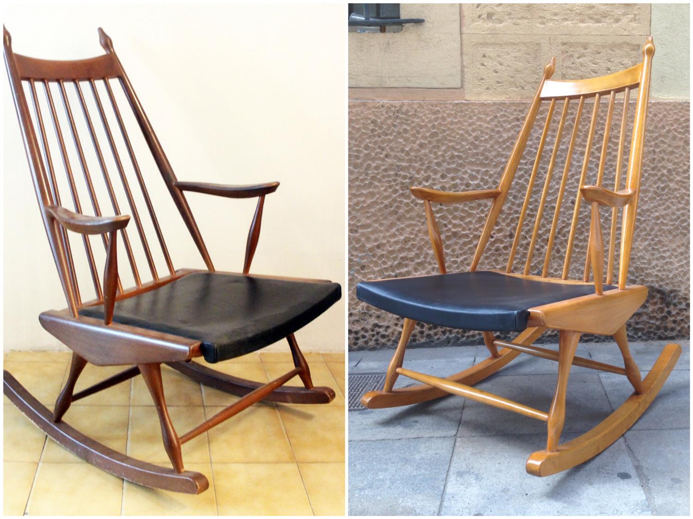Antes y después - balancín - Studio Alis