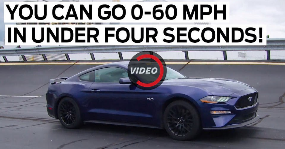 2018 ford mustang gt to offer 0 60 in under 4 seconds with drag strip mode. Black Bedroom Furniture Sets. Home Design Ideas