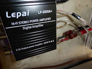 High Pass Networks For Midrange And Treble - Lepai LP-2020A+ Amplifier