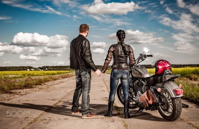 memilih jaket motor