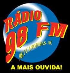 Rádio 98 FM de Canoinhas ao vivo