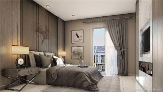 Interior Design Master Bedroom Rumah Visana The Savia BSD