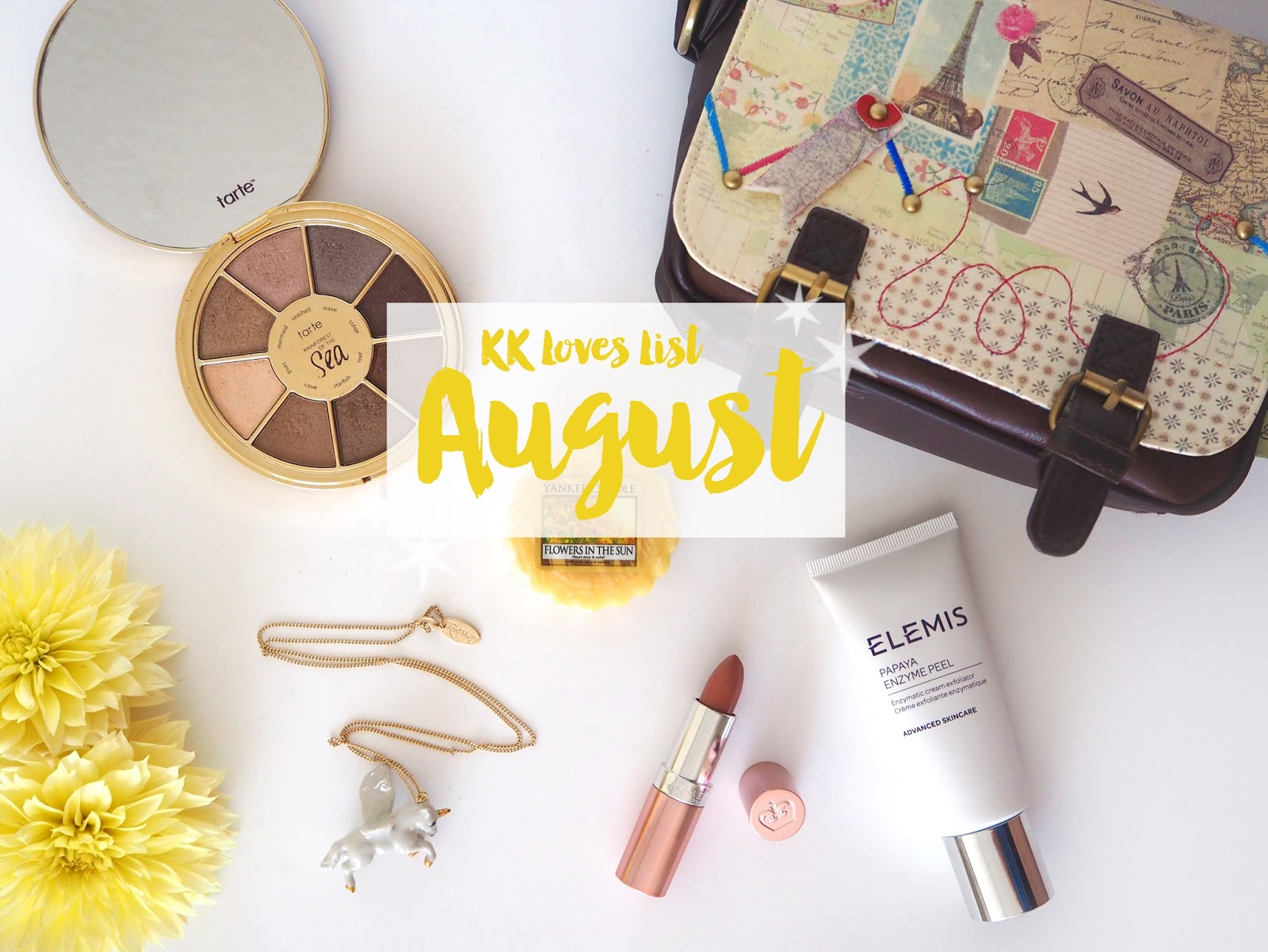 Loves List: August | Katie Kirk Loves