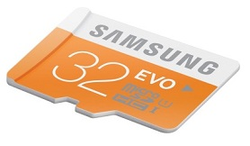 SAMSUNG EVO 32 GB Micro SD SDHC Class 10 Memory Card for Rs.298 only @ ebay (Free Shipping)