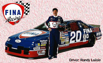 Randy LaJoie #20 Fina Lance Snacks Ford Racing Champions 1/64 NASCAR diecast blog BGN Cup 1994 1993 Dick Moroso #74 age