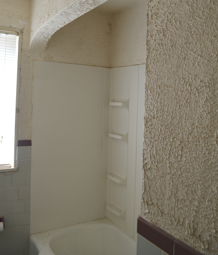 Bathroom Plaster Walls