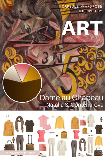 Dame au Chapeau by Natalia S. Gontcharova Revisiting for Spring 2018