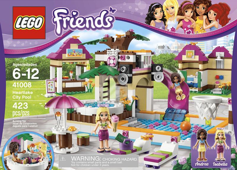 LEGO Friends Inspire Girls Globally: Friends 2013 sets