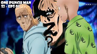 Saitama and King - One Punch Man Season 2 Episode 01