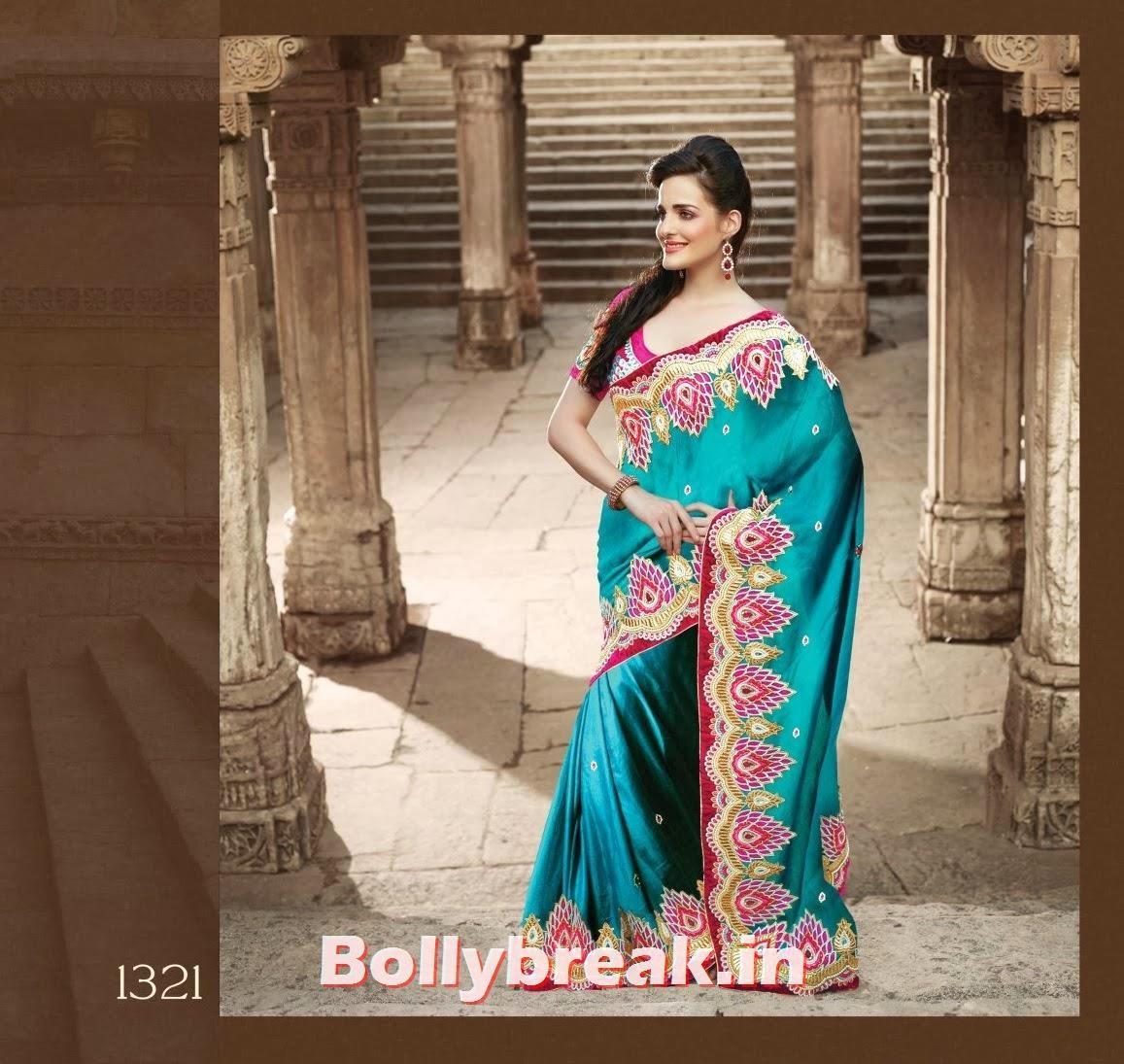 , Beautiful Indian Models in Saree