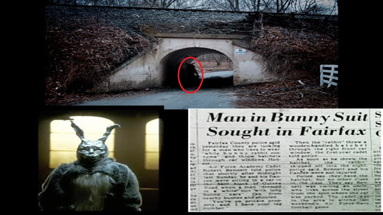 This time around Chris and Fred talk about the urban legend of The  Bunnyman. Where did it come from?
