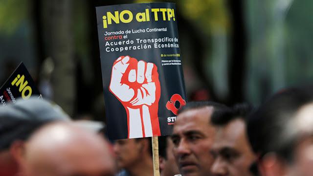 Trump sacará a Estados Unidos del TTP y renegociará el NAFTA