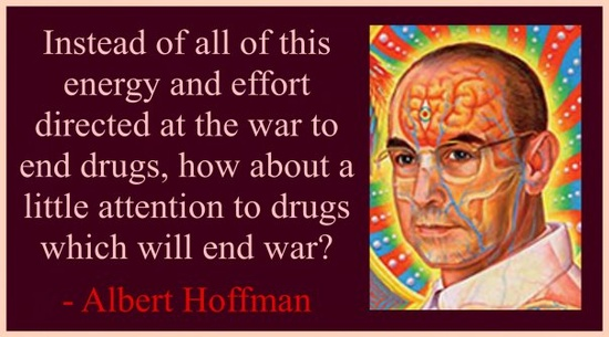 Alien Punk Albert Hofmann Quotes