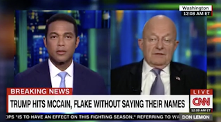 "James Clapper: I Question Trump's Fitness For Office, Wonder If He Is ""Looking For A Way Out"" (Video)"