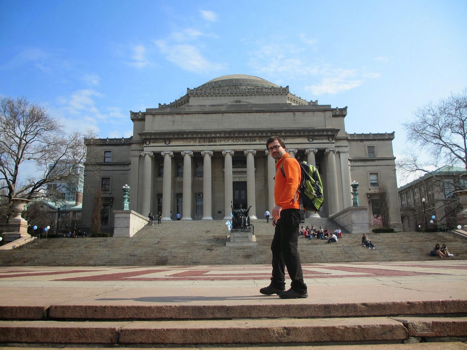 Uma visita à Universidade de COLUMBIA em Nova Iorque   EUA