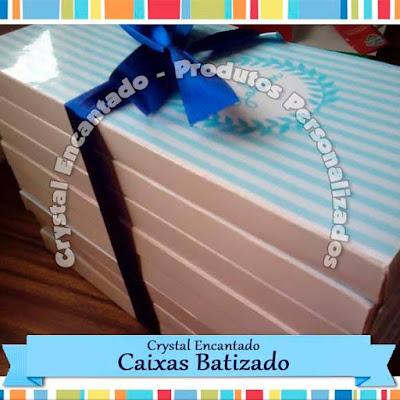 Caixas para Lembrancinha de Batizado