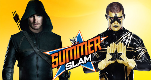 Arrow vs Stardust RAW WWE