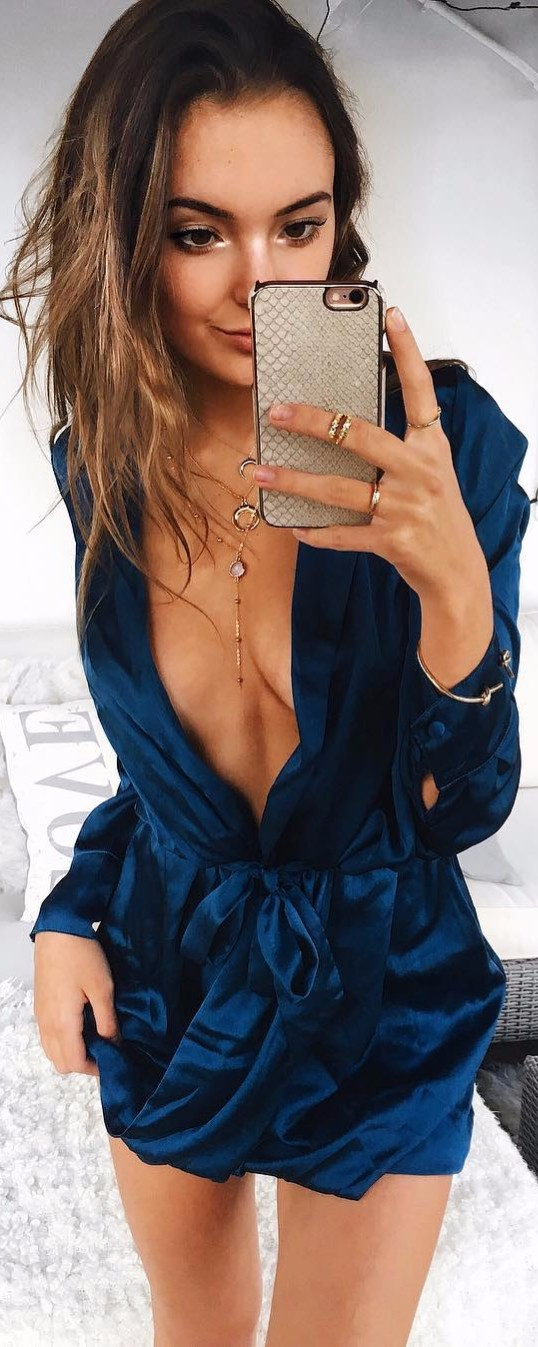 velvet dress is everything / the new 2017 trend