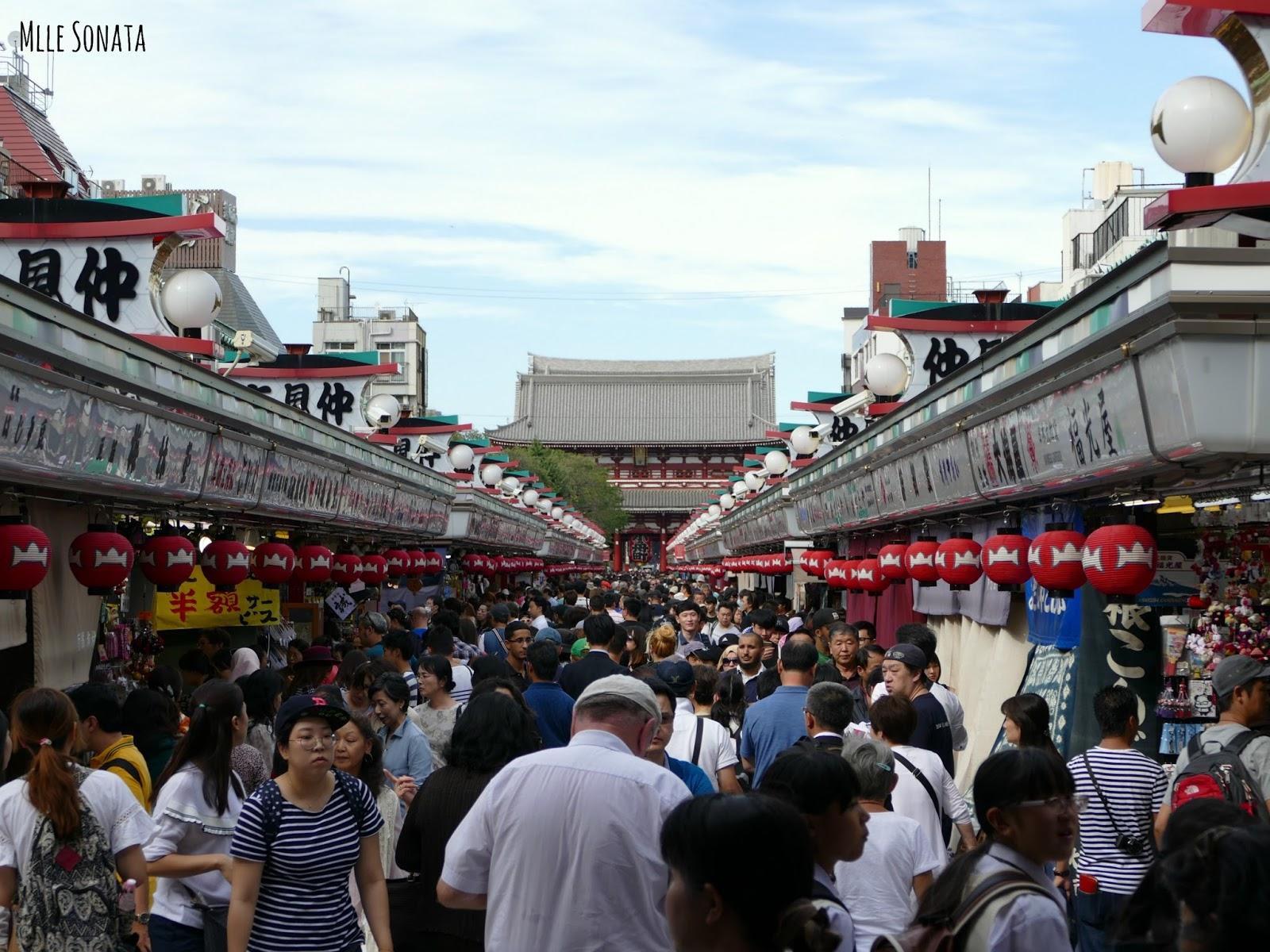 Quartier de Asakusa à Tokyo.