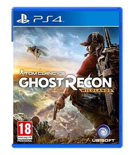Tom Clancy's Ghost Recon: Wildlands ps4 cover