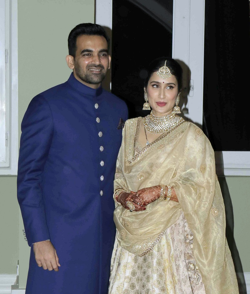 Zaheer Khan Marriage Videos Zaheer Khan Sagarika G...