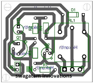 transistor latch PCB design
