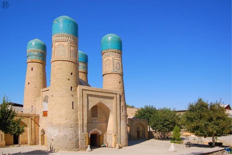 Le Chameau Bleu - Blog Voyage Ouzbékistan -  Chor Minor à Boukhara - Asie Centrale