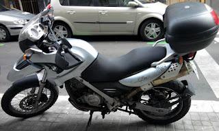 Tapizado moto BMW