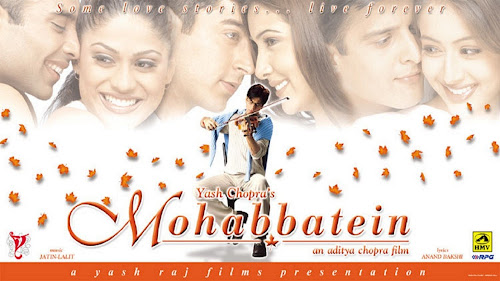 Mohabbatein (2000) Movie Poster
