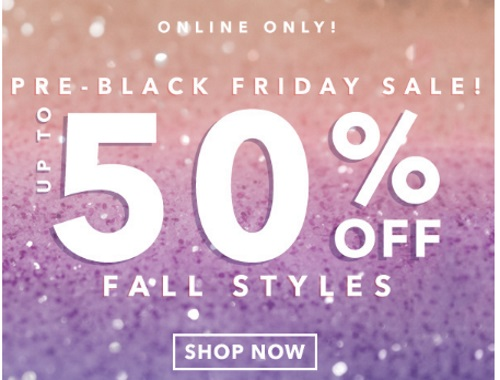 Forever 21 Pre Black Friday Sale Up To 50% Off