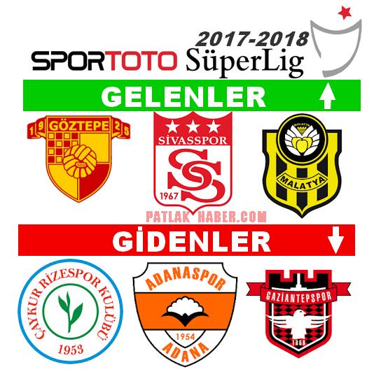 Süperlige Çıkan Takımlar 2017-2018