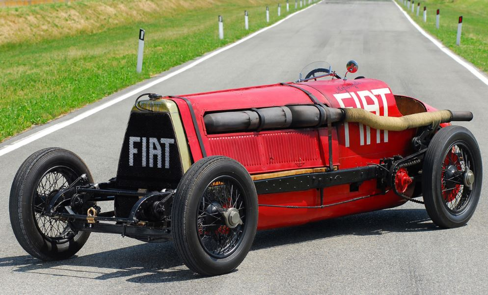 Just A Car Guy: Jay Leno brought his awe inspiring 1917 race car, the Botafogo Special, powered ...