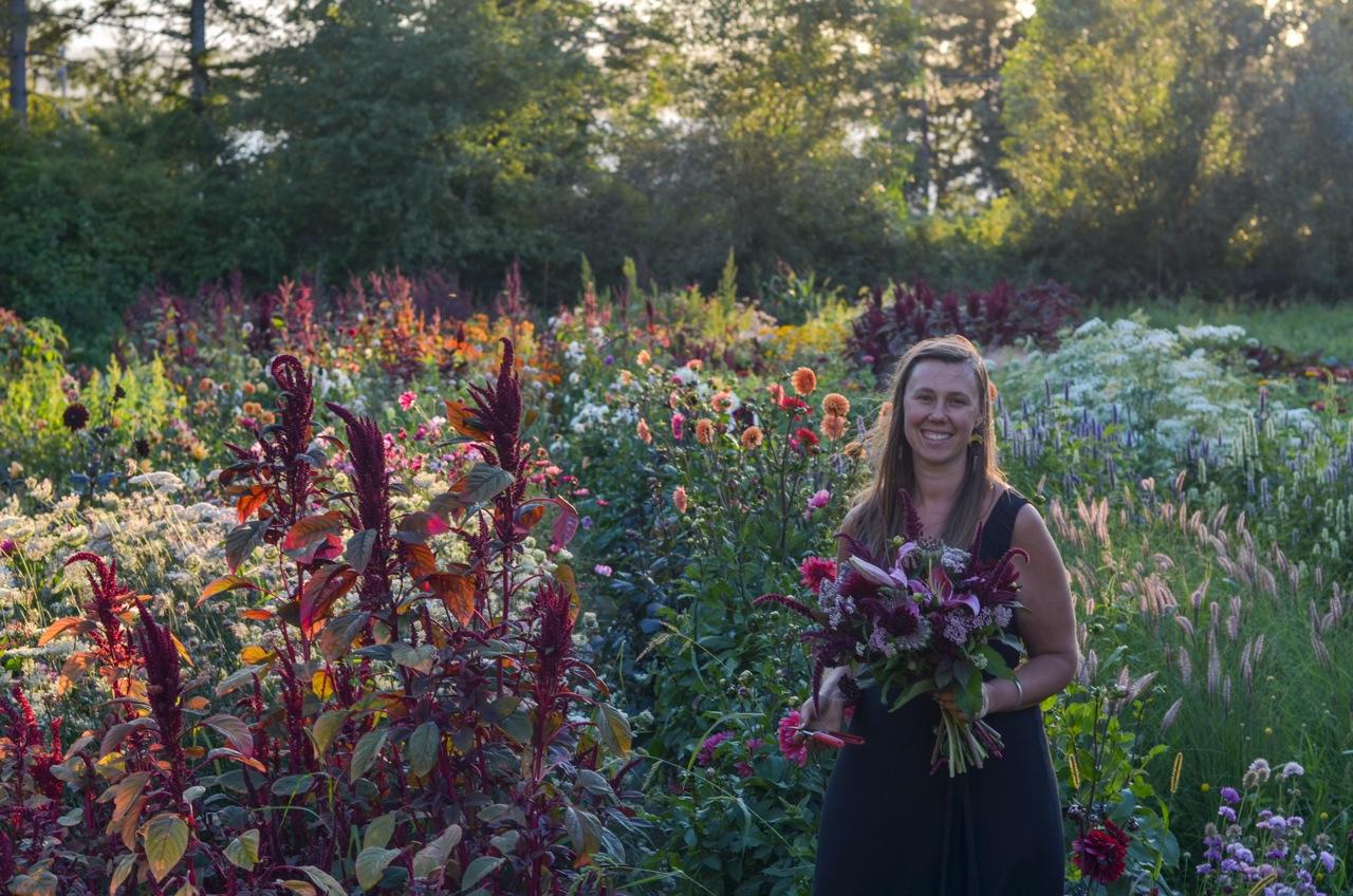 Alina 39 s flowers evening walk through my garden with the - When you walk through the garden ...